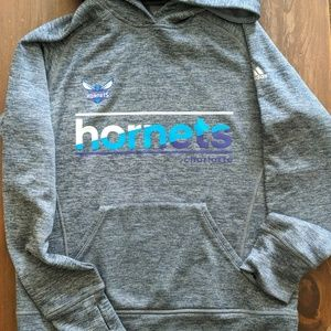 Charlotte Hornets Adidas Hoodie, Size S